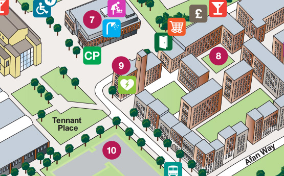 Bay Campus Map