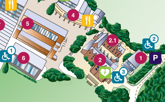 Singleton Campus Map