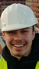Elis James, a student who undertook a civil engineering placement with GO Wales